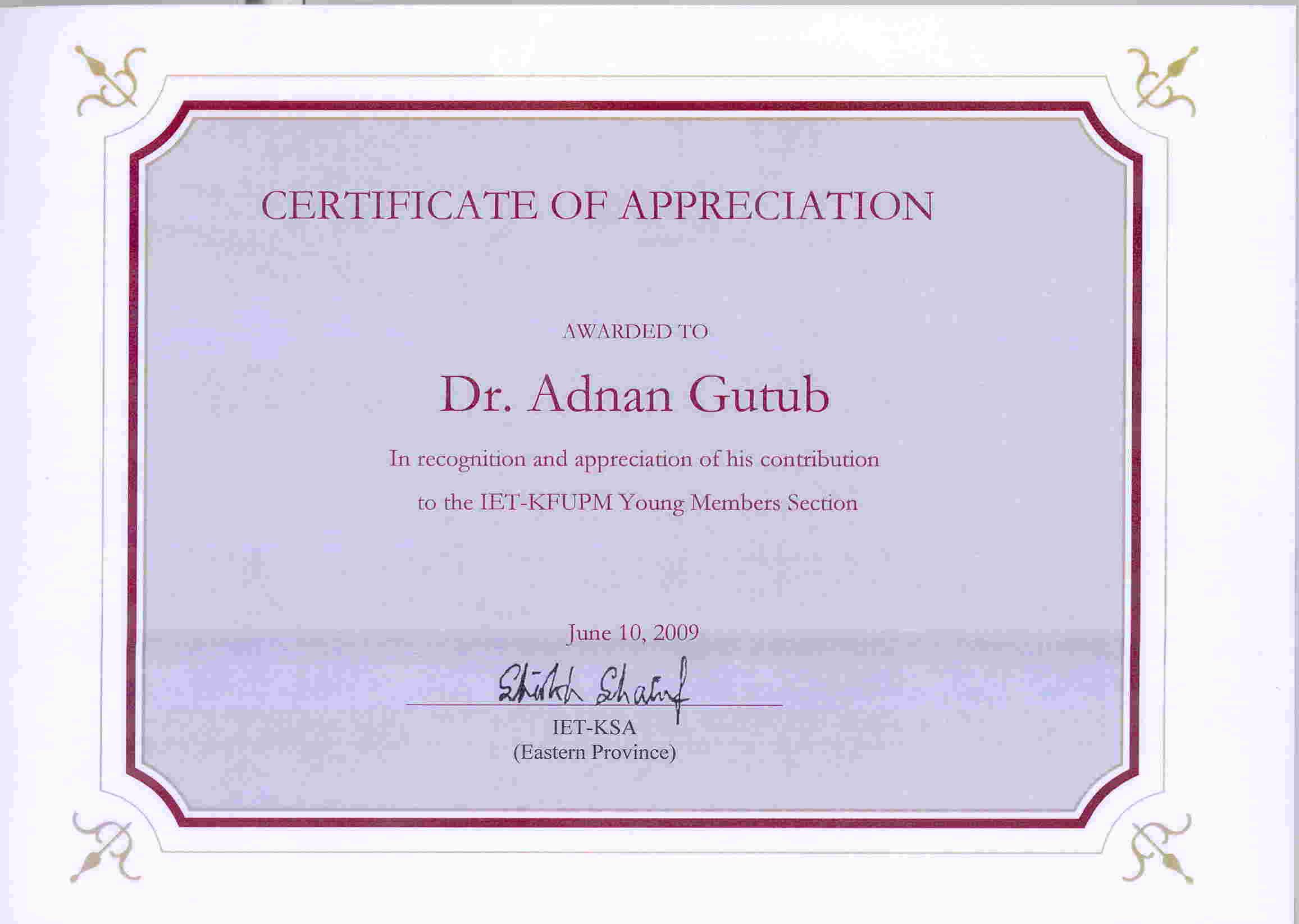 Sample of certificate of appreciation for panelist choice image dr adnan gutub resume announcement jpg pdf appreciation jpg pdf yadclub choice image yadclub Choice Image