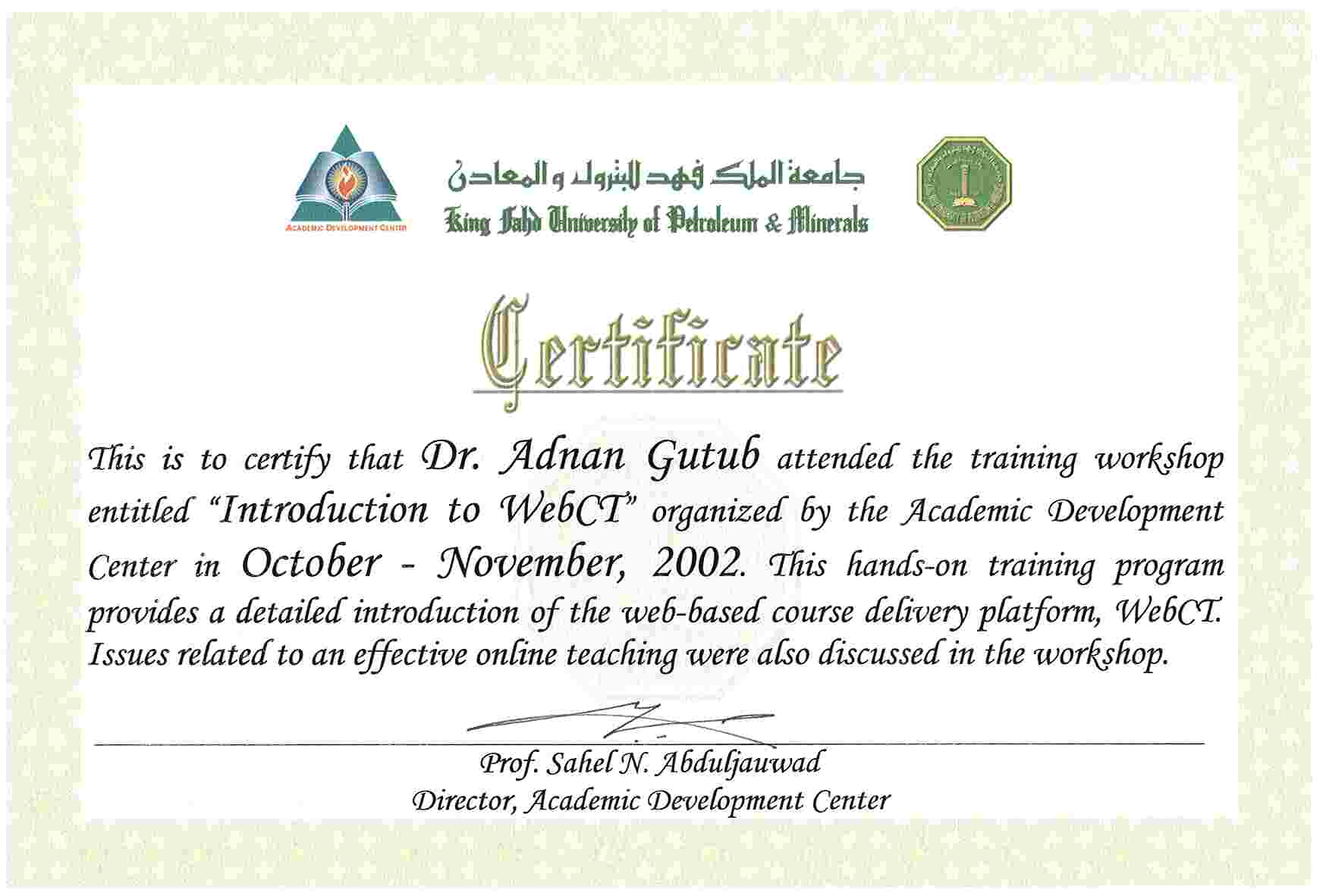Sample of computer training certificate fieldstation sample of computer training certificate yadclub Image collections